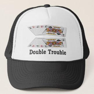 ラスベガスの幸運な二重悩みの相場師の帽子! キャップ