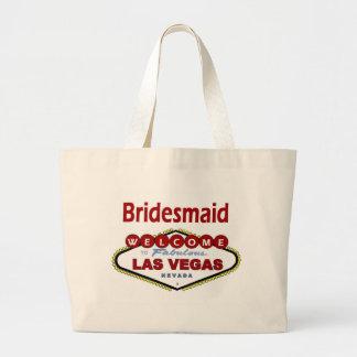 ラスベガスの新婦付添人の新しい色の深紅のクラシックへの ラージトートバッグ