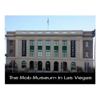 ラスベガスの暴徒博物館 ポストカード