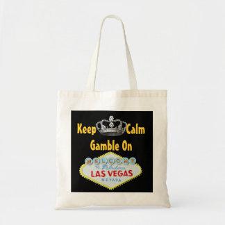 ラスベガスの穏やかな賭けを保って下さい トートバッグ