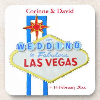 ラスベガスの結婚式 飲み物コースター