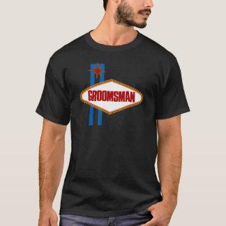 ラスベガスの花婿の付添人 Tシャツ