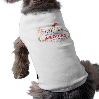 ラスベガスの花嫁 犬用袖なしタンクトップ