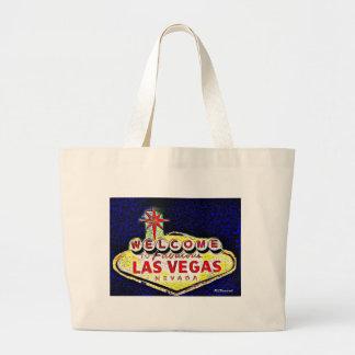 ラスベガスの芸術 ラージトートバッグ