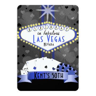 ラスベガスの誕生会のカジノ夜 カード