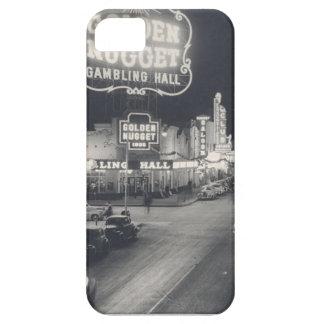 ラスベガスの都心のレトロ iPhone SE/5/5s ケース