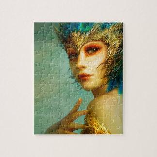 ラスベガスの青い女の子 ジグソーパズル