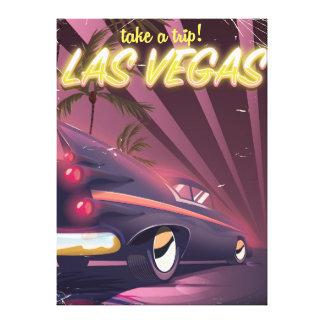 ラスベガスネバダに旅行を取って下さい! キャンバスプリント