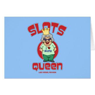 ラスベガスネバダ-スロット女王 カード