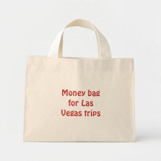 ラスベガス旅行のためのお金のバッグ ミニトートバッグ