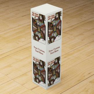 ラスベガス米国のヴィンテージ旅行ワイン用化粧箱 ワインギフトボックス