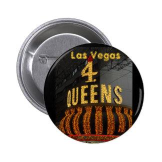 ラスベガス4人の女王 5.7CM 丸型バッジ