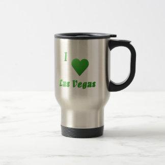 ラスベガス -- ケリーの緑 トラベルマグ