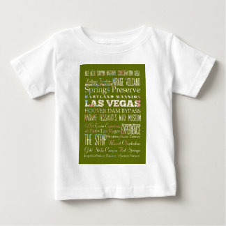 ラスベガス、ネバダの魅力そして有名な場所 ベビーTシャツ