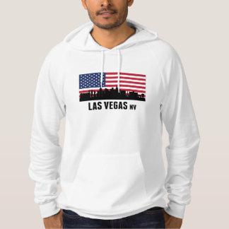 ラスベガスNVの米国旗 パーカ