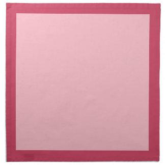ラズベリーおよびピンクのナプキン ナプキンクロス