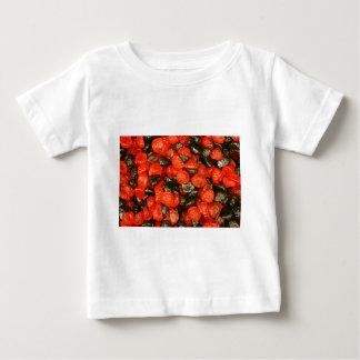 ラズベリーおよびブラックベリーキャンデー ベビーTシャツ