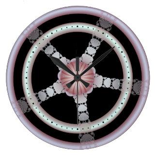 ラズベリーのさざ波の柱時計 ラージ壁時計