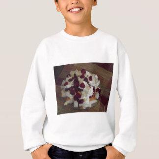 ラズベリーのデザート スウェットシャツ