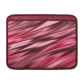 ラズベリーのピンクパターン MacBook スリーブ