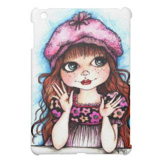 ラズベリーのベレー帽…フランスのなつながり iPad MINIカバー