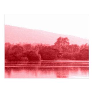 ラズベリーの川岸 葉書き