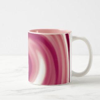 ラズベリーの渦巻 ツートーンマグカップ