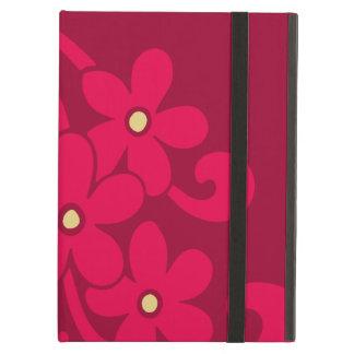 ラズベリーの赤の花 iPad AIRケース