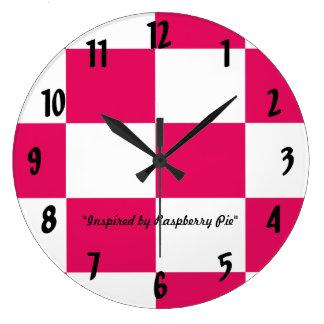 ラズベリーパイ ラージ壁時計