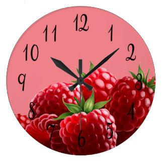 ラズベリー ラージ壁時計
