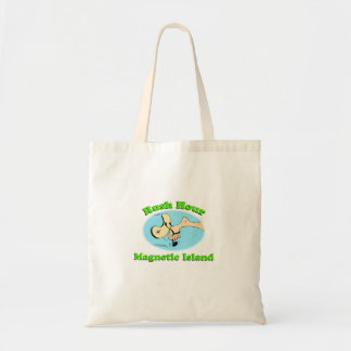 ラッシュアワーの磁気島のバッグ トートバッグ