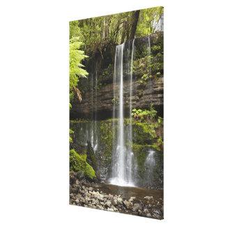 ラッセル滝、山分野の国立公園、 キャンバスプリント