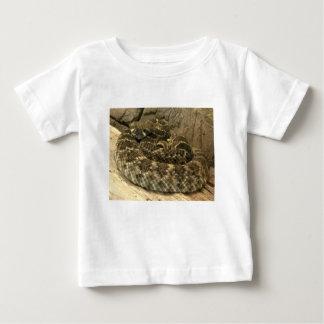 ラッセル音のヘビ ベビーTシャツ