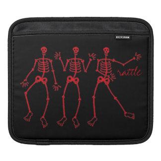 ラッセル音demの骨の骨組ダンスのiPadの空気 iPadスリーブ