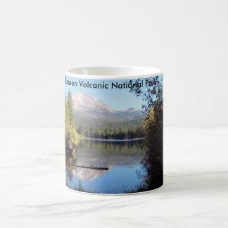 ラッセン火山国立公園のマグ コーヒーマグカップ