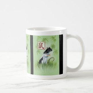 ラットのマグの中国のな(占星術の)十二宮図年 コーヒーマグカップ