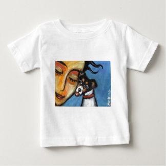 ラットテリアのキス ベビーTシャツ