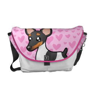 ラットテリア/おもちゃのフォックステリア犬愛 クーリエバッグ
