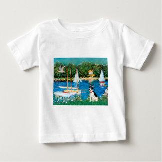 ラットテリア-ヨット ベビーTシャツ