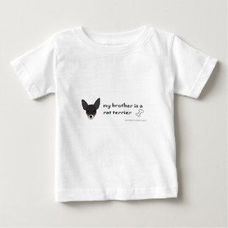 ラットテリア-多くは繁殖します ベビーTシャツ