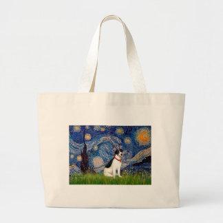 ラットテリア-星明かりの夜 ラージトートバッグ