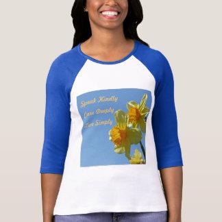 ラッパスイセンの女性はワイシャツに合いました Tシャツ