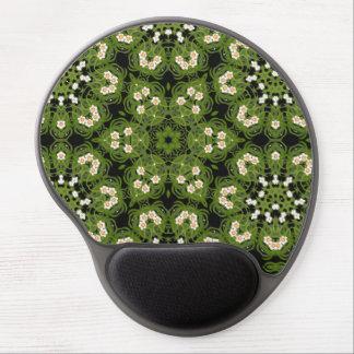 ラッパスイセンの花の幾何学的なマウスパッド ジェルマウスパッド