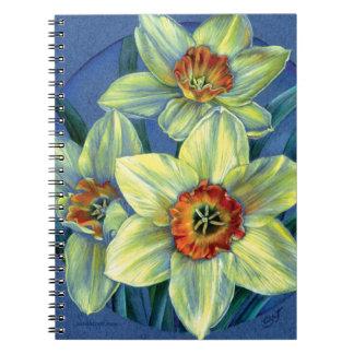 ラッパスイセンの芸術のノート ノートブック