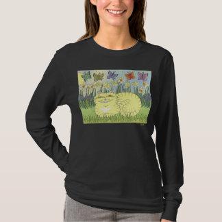 ラッパスイセンの虎猫の空想 Tシャツ