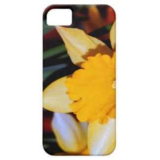 ラッパスイセン第10記念日のための花 iPhone SE/5/5s ケース