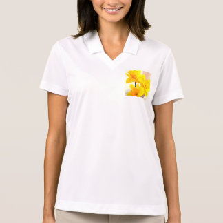 ラッパスイセン!  女性の性能のフード付きスウェットシャツ ポロシャツ