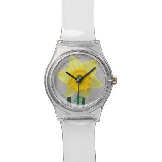 ラッパスイセン 腕時計