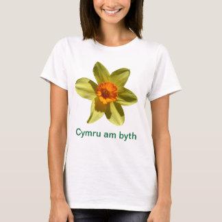 ラッパスイセン、Cymru AMのbyth Tシャツ