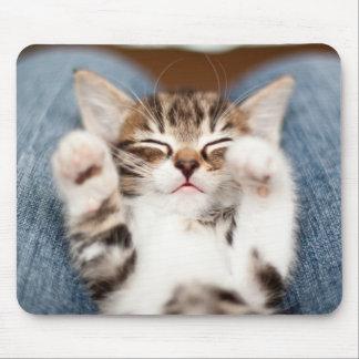 ラップの子ネコ マウスパッド